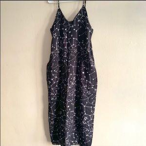 Dresses & Skirts - Constellation Black & White Maxi Dress Large